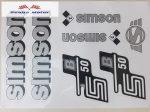 Simson komplett matrica szett S50B szürke