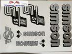 Simson komplett matrica szett S51N szürke