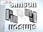 Simson komplett matrica szett S51Enduro fehér