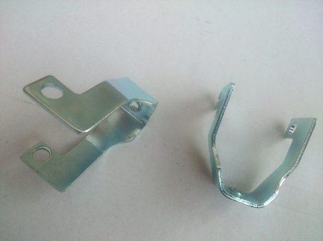 Simson kipufogó hővédő védő rács rögzítő lemez