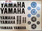 Matrica szett Yamaha fekete 24x34 cm