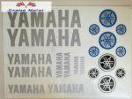 Matrica szett Yamaha ezüst 24x34 cm