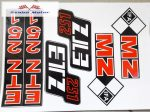 ETZ 251 komplett matrica szett 24x34 cm