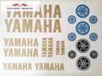 Matrica szett Yamaha arany 24x34 cm
