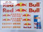 Red Bull matrica szett 24,5x17 cm