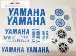 Matrica szett Yamaha kék 24x34 cm