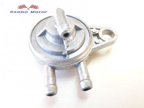 Egy-csavaros felfogatású benzincsap robogóra (002 változat)